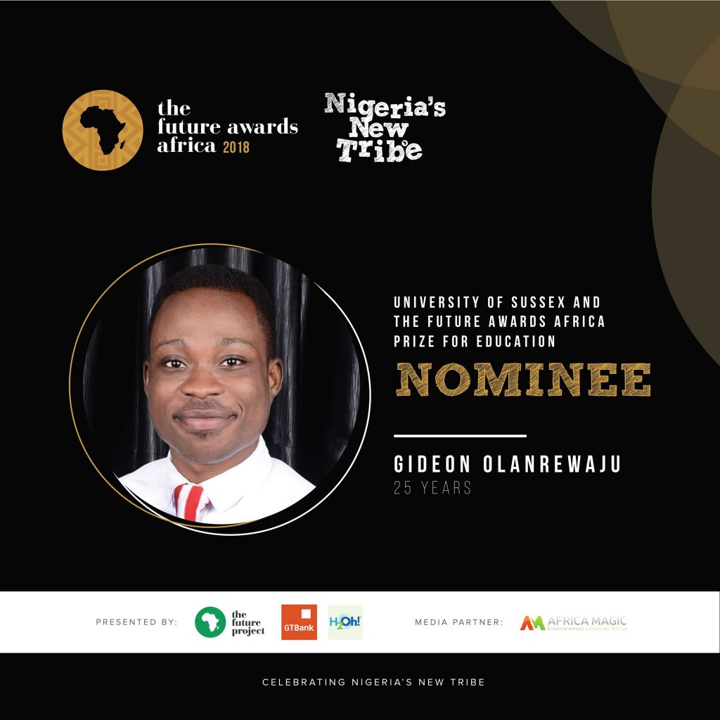 The Future Award Africa Prize for Education Nominee