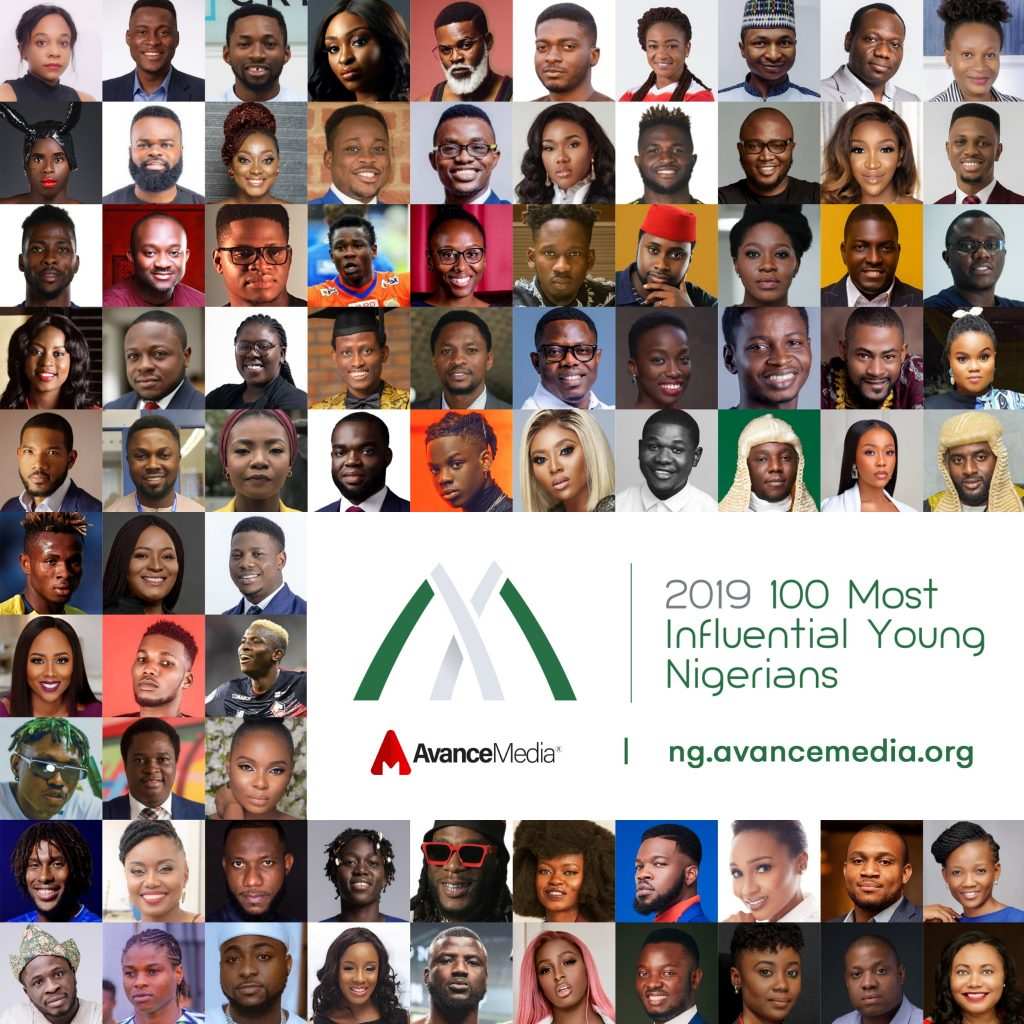 Recipient of 100 most Influential Young Nigerians Award
