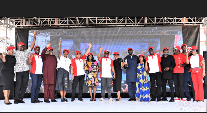 Recipient of Zenith Bank Heroes of our Time Award